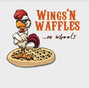 wings n waffles logo
